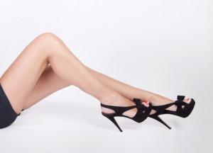 Sexy cougar legs